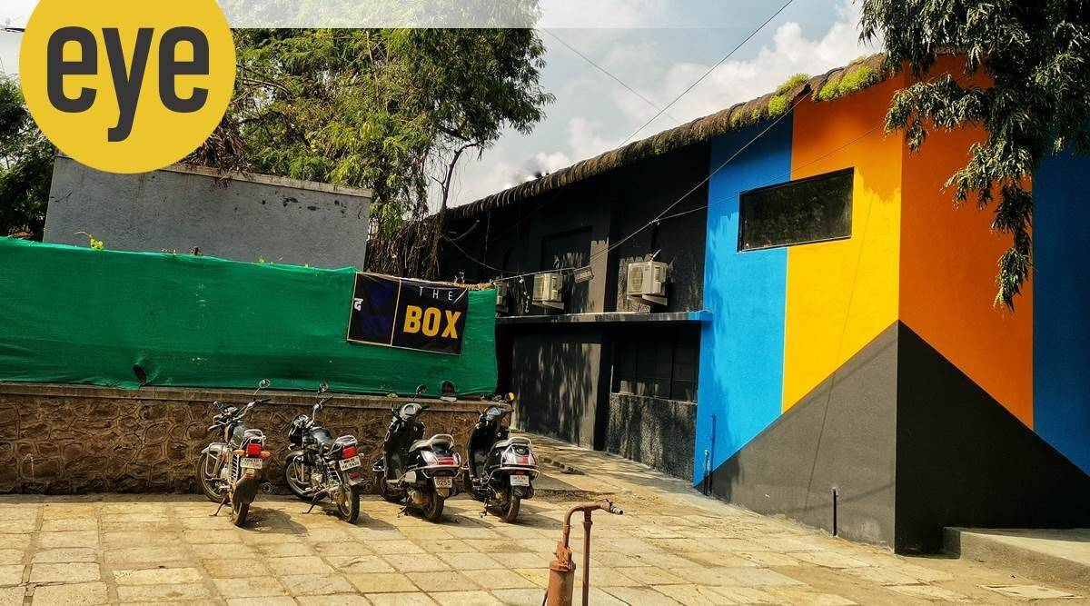 The Box, theatre, industrial shed in Pune, theatre in pandemic, eye 2021, sunday eye, indian express news