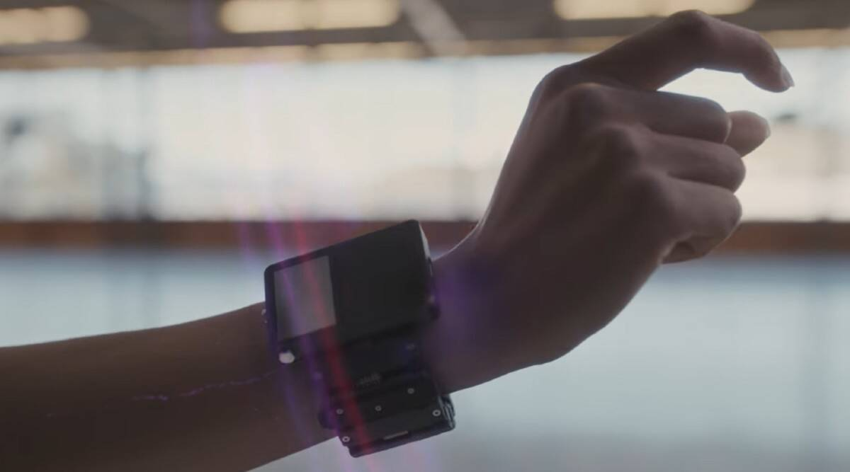 Facebook is developing wrist straps that work with AR glass