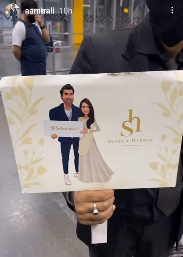 harman baweja wedding