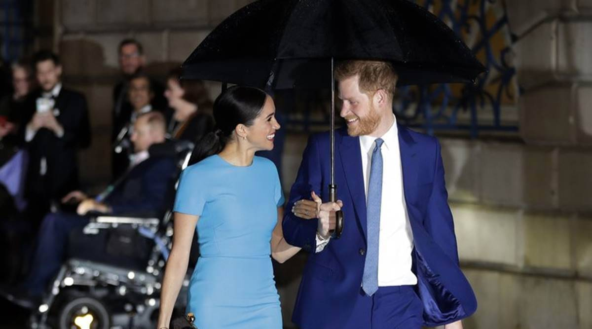 Prince Harry and Meghan Markle, Harry and Meghan interview, Harry and Meghan interview with Oprah Winfrey, Princess Diana, former royals, royal interview, indian express news