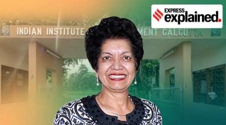 Anju Seth, IIM-Calcutta, IIM-Calcutta Director, Anju Seth resignation, Who is Anju Seth, Indian Express