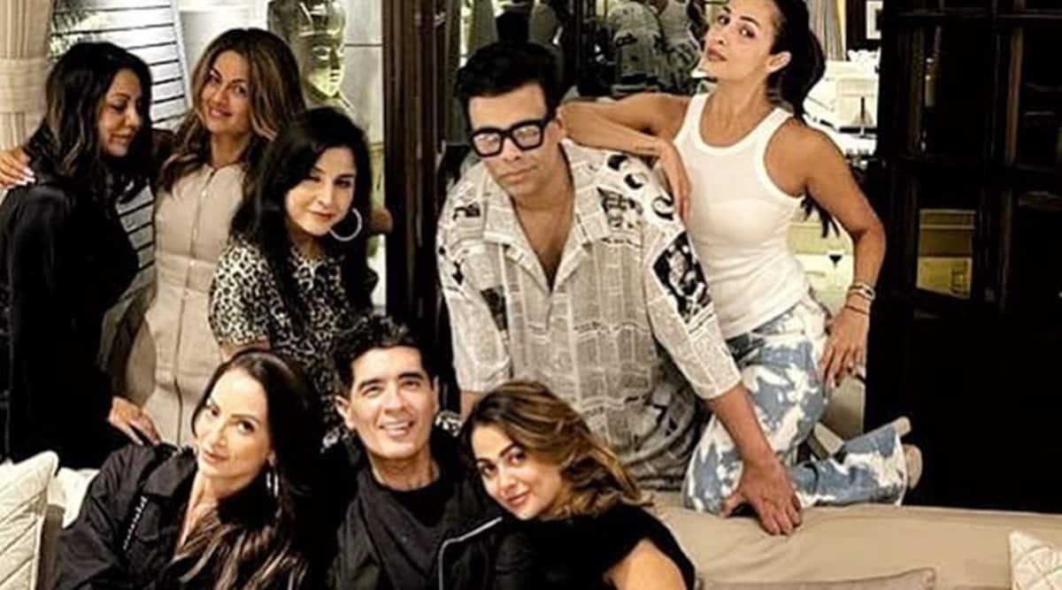 Inside Malaika Arora, Gauri Khan, Karan Johar and Manish Malhotra's 'night with friends