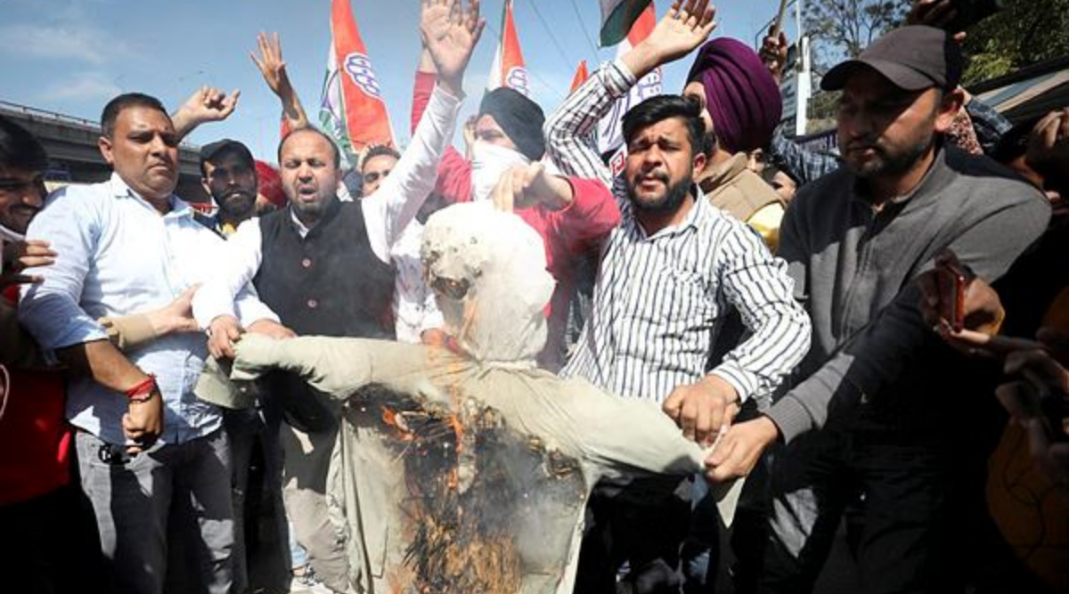 Anti-Azad protest in Jammu, Cong says free to raise voice - The Indian Express