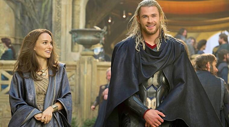 Natalie Portman chris hemsworth thor films