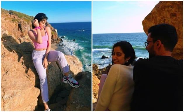 Janhvi Kapoor joins sister Khushi Kapoor in LA