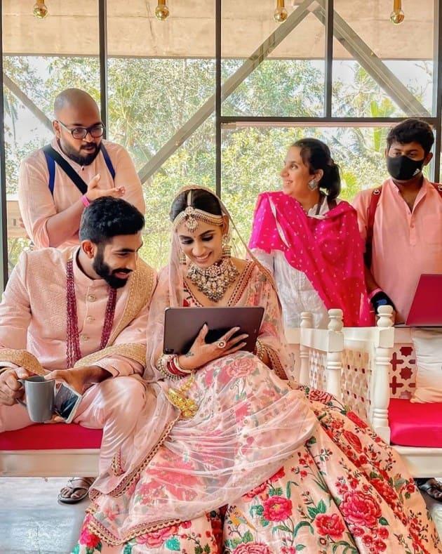 Jasprit Bumrah Sanjana Ganesan wedding news