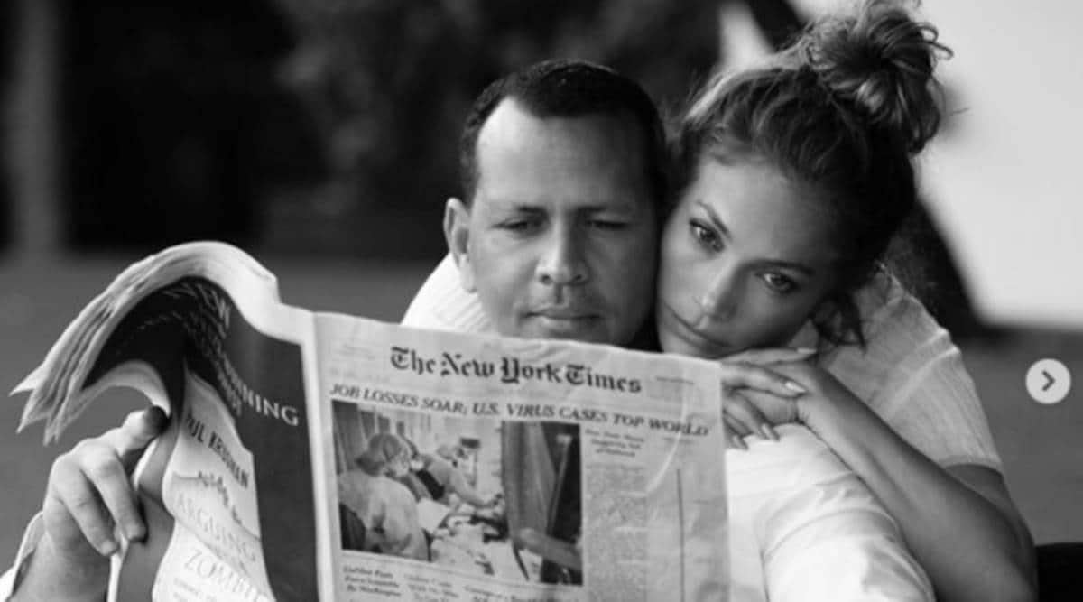 Jennifer Lopez Alex Rodriguez relationship timeline, Jennifer Lopez Alex Rodriguez news, Jennifer Lopez news, Alex Rodriguez news, indian express news