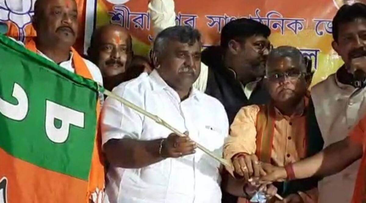 'Today, I could chant Jai Shri Ram at a public meeting': TMC MLA Jitendra Tiwari joins BJP