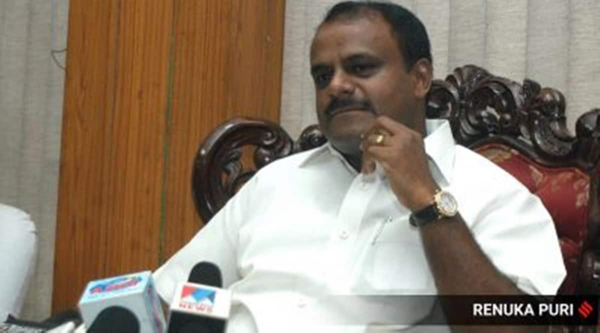 H D Kumaraswamy, Pegasus spyware, Pegasus news, Karnataka Pegasus spyware, Kumaraswamy on BJP, India news, Indian express