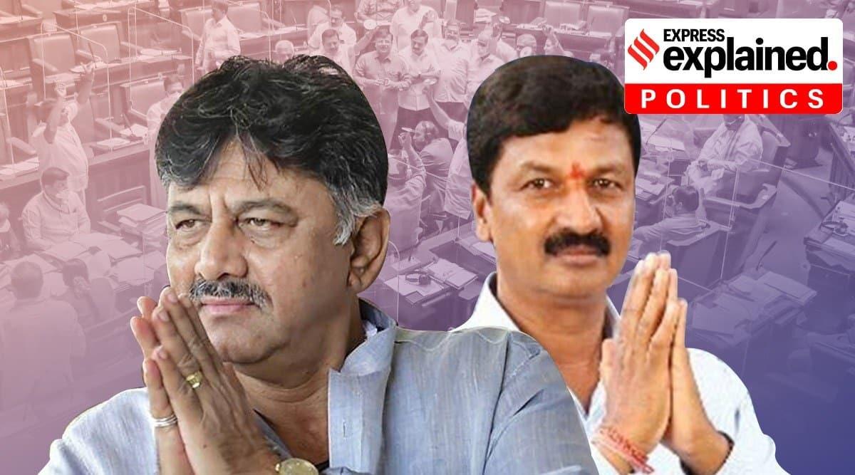 Karnataka sex CD scandal, Karnataka sex for job scandal, What is Karnataka sex CD scandal, Ramesh Jarkiholi, D K Shivakumar, Indian Express