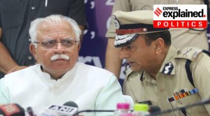 Why CM, home minister are divided on Haryana police chief