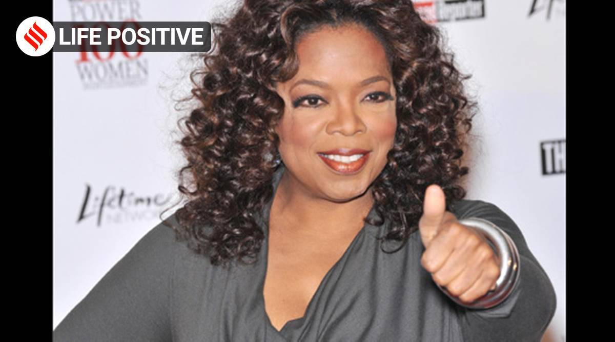 Oprah Winfrey, Oprah Winfrey motivational video, Oprah Winfrey motivational speech, Oprah Winfrey Life positive, Oprah speeches, indian express news