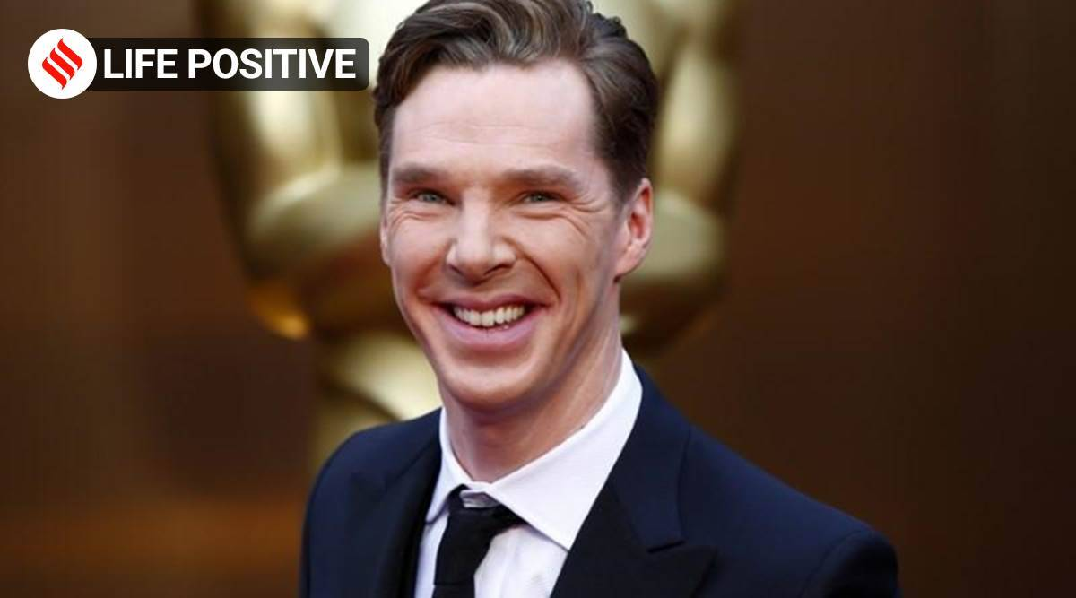 benedict cumberpatch, life positive, reading, letters live, reading of Sol LeWitt's letter, indianexpress, indianexpress.com