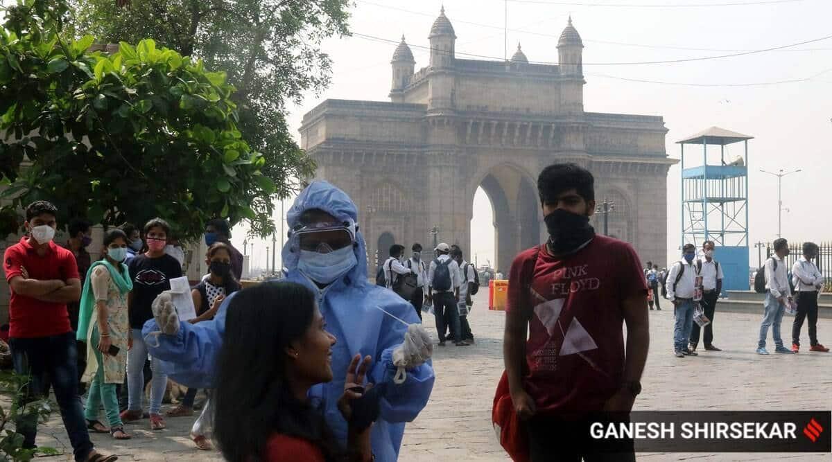 Maharashtra COVID-19 testing fees, Maharashtra RT-PCR test cost, Mumbai news, Mumbai coronavirus cases, Mumbai covid-19 testing, indian express