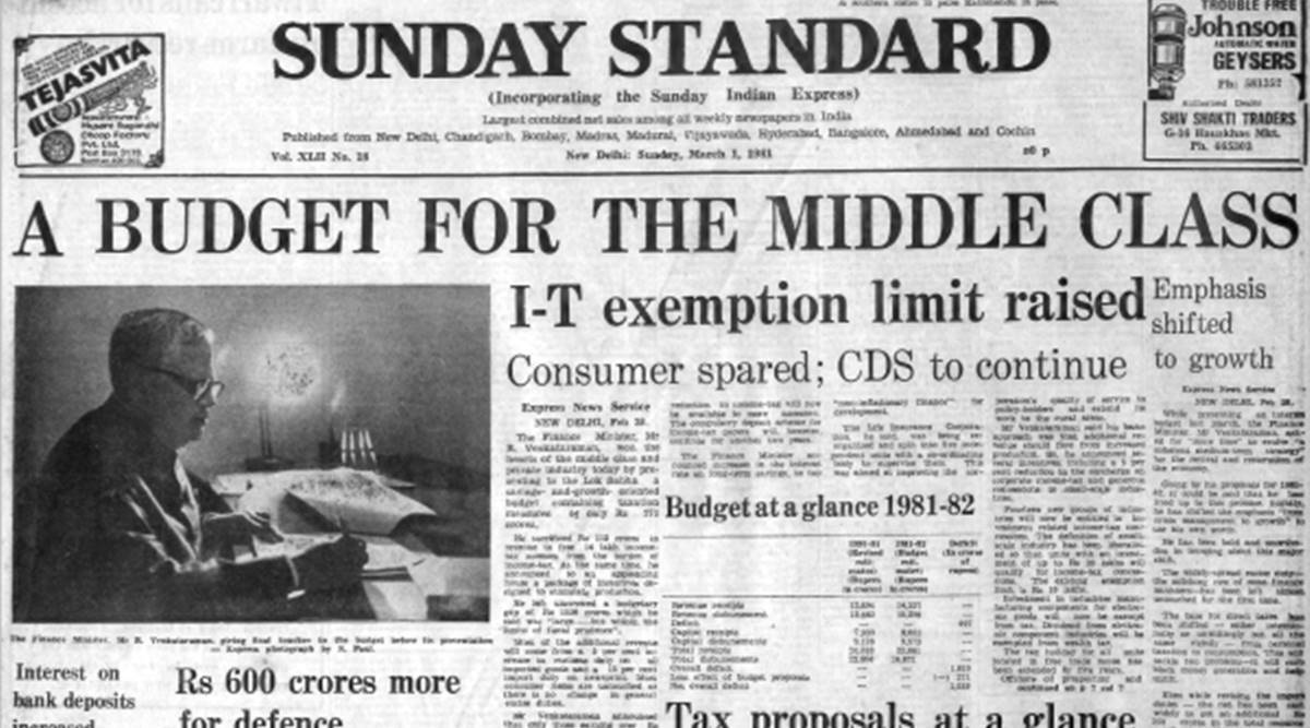 Forty Years Ago, March 1, 1981: Budget Proposals
