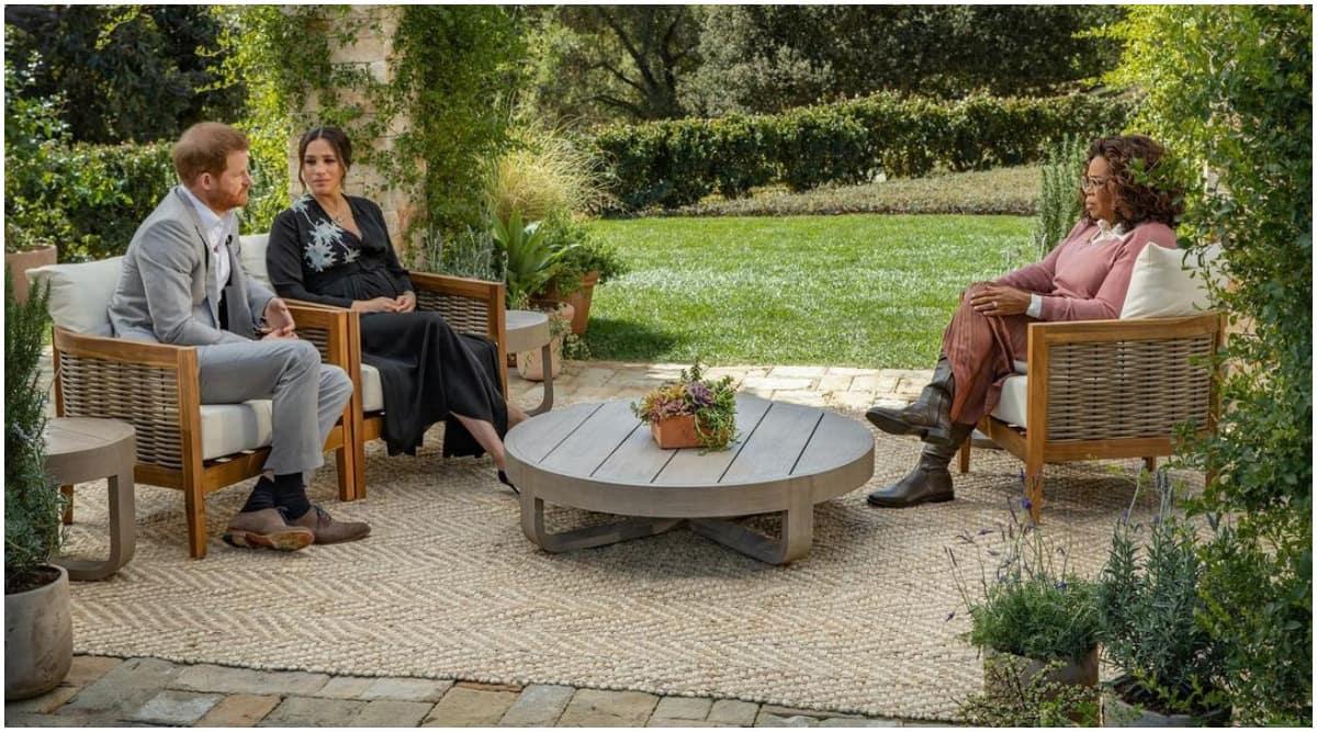 Meghan MArkle- Prince Harry- Opran Winfrey