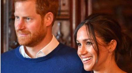 Meghan Markle, Prince Harry, Duke and Duchess of Sussex, Archewell website, International Women's Day, Harry and Meghan news, indian express news