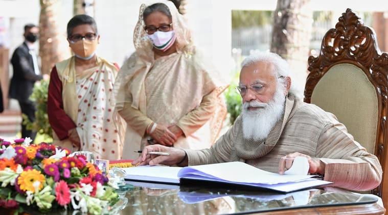 Prime Minister Narendra Modi in Bangladesh