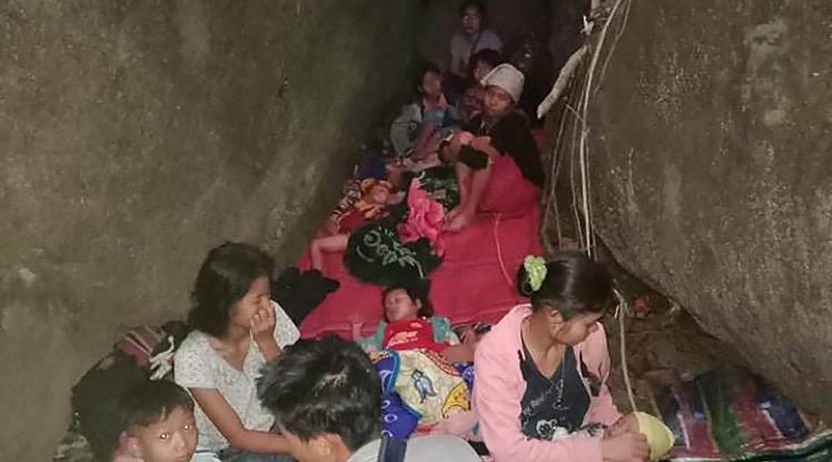 Myanmar coup, Myanmar refugees