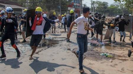 Myanmar, Myanmar protests, anti-coup protests