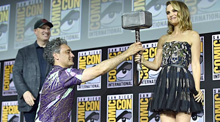 Natalie Portman jane foster thor love and thunder comic con