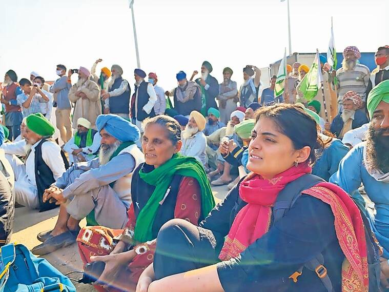 farmers protest, women farmers, farm laws, agriculture laws, Chandigarh news, Punjab news, Indian express news