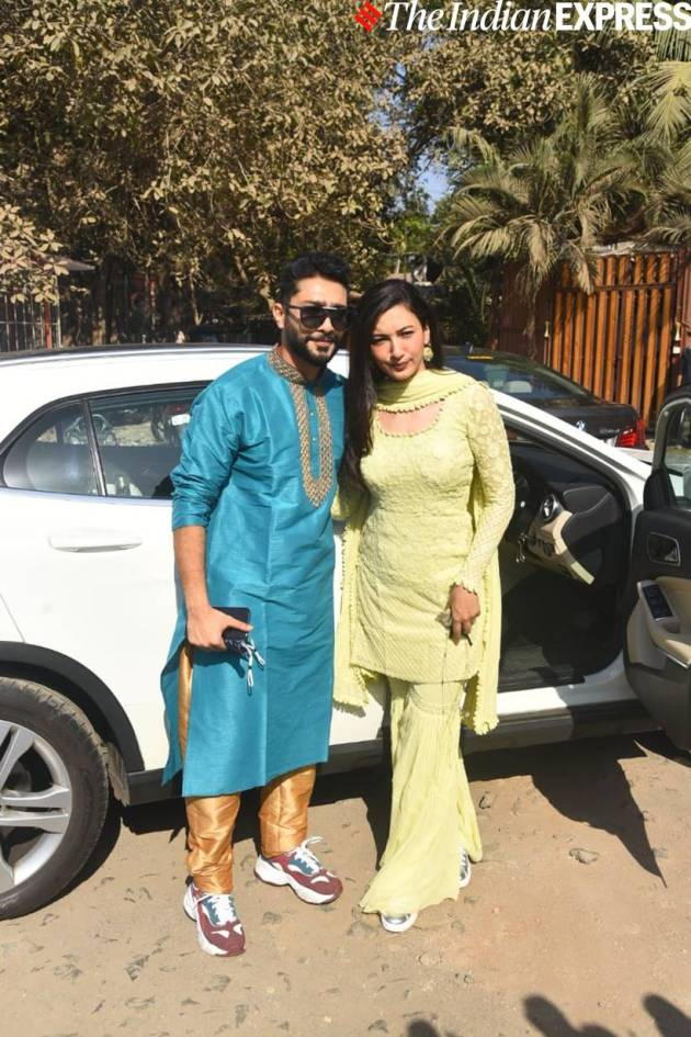 gauahar khan with husband zaid darbar