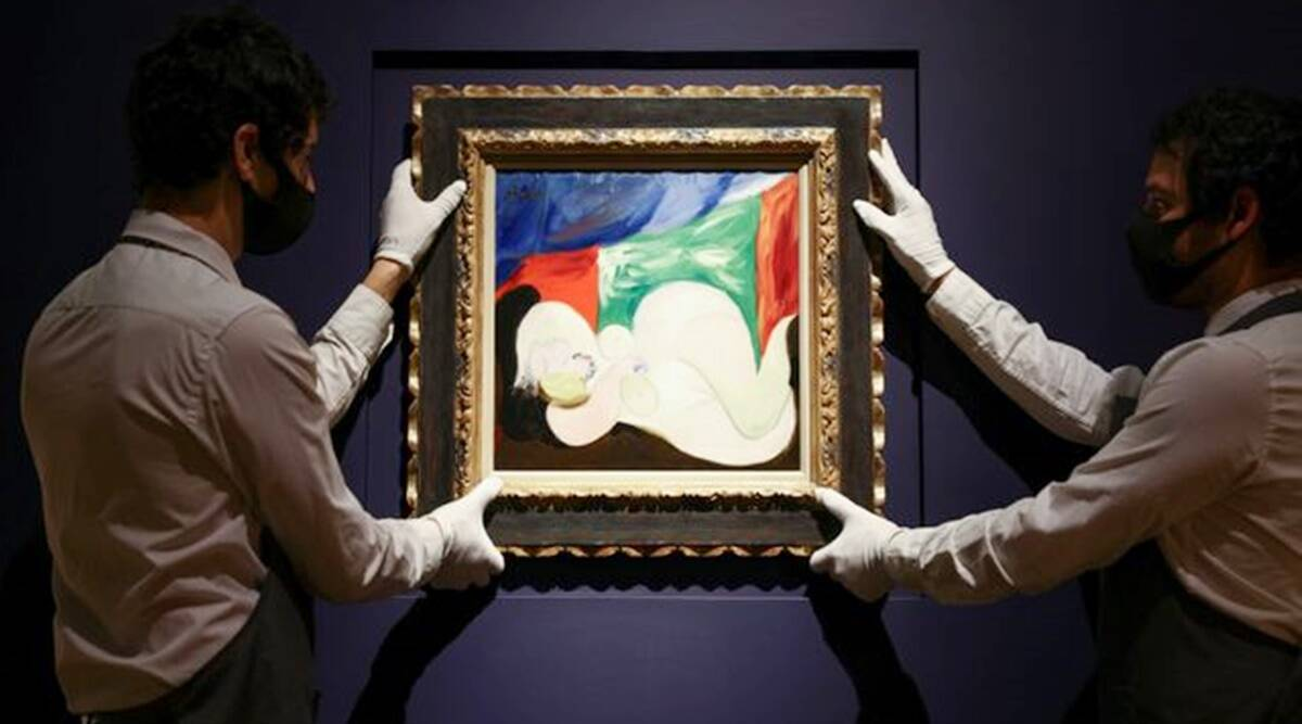 Pablo Picasso, Rene Magritte, Banksy atwork, Picasso auction, christies auction, christies auction for NHS, banksy NHS, art auction, art news