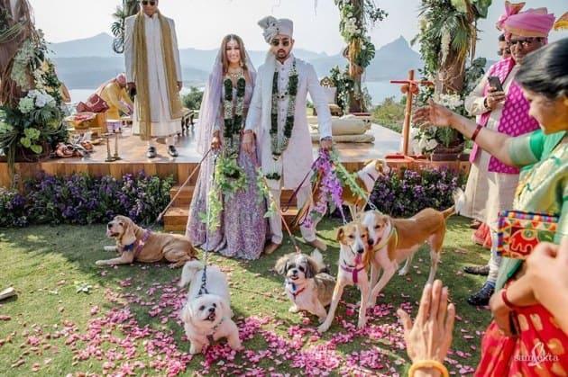 Priyaank K Sharma Shaza Morani wedding photos