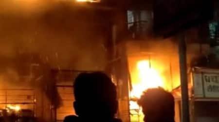 Pune fire news