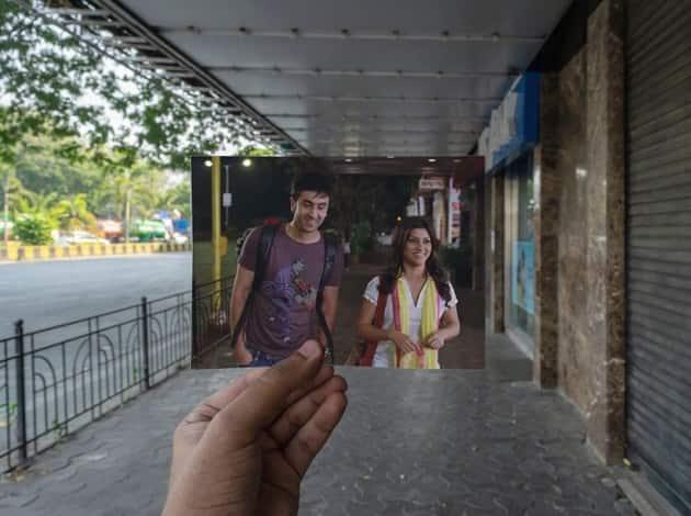 Ranbir Kapoor and Konkona Sensharma in Wake Up Sid.