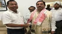 Denied poll ticket, Assam BJP minister joins Congress