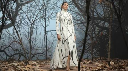 Samant Chauhan, Samant Chauhan designs, Samant Chauhan pandemic designs, Samant Chauhan FDCI X Lakme Fashion Week collection, indian express news