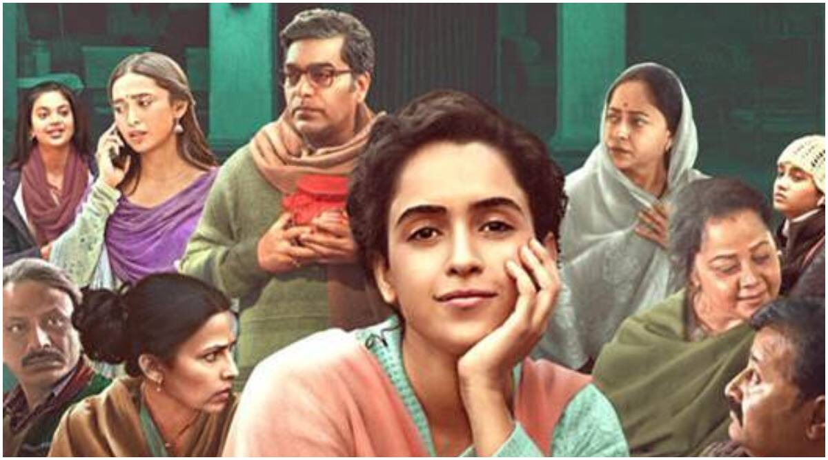 Pagglait trailer: Comedy and death combine in Sanya Malhotra's quirky  Netflix film | Entertainment News,The Indian Express