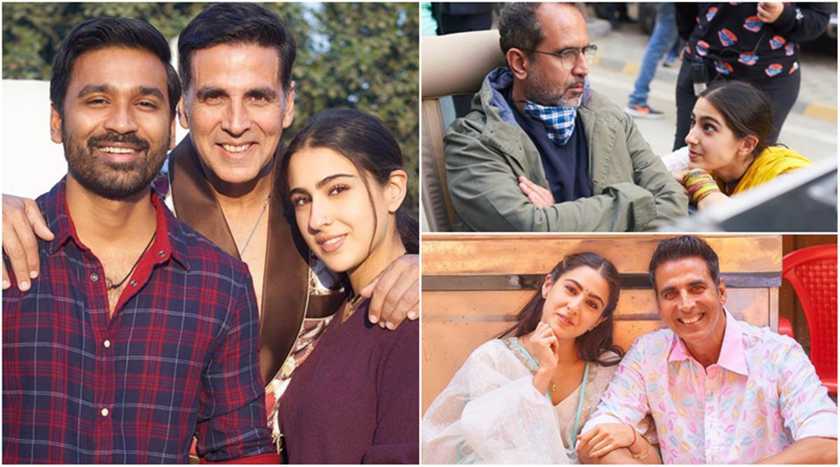 Atrangi Re wrap: Sara Ali Khan thanks Dhanush for introducing her to South  Indian food, reveals she stalked Akshay Kumar for pics   Entertainment  News,The Indian Express