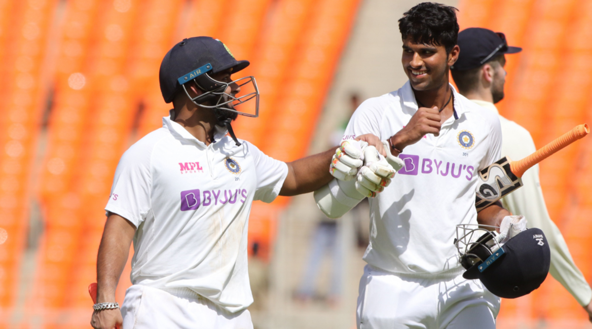 Ton-up Rishabh Pant, Washington Sundar take India to 294-7 on Day 2 of 4th Test against England
