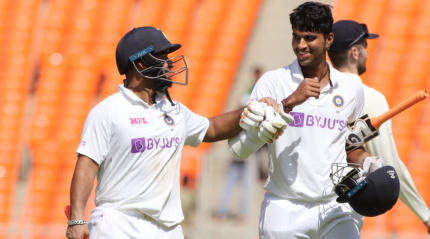 Pant, Sundar take India to 294-7 on Day 2 of 4th Test against England