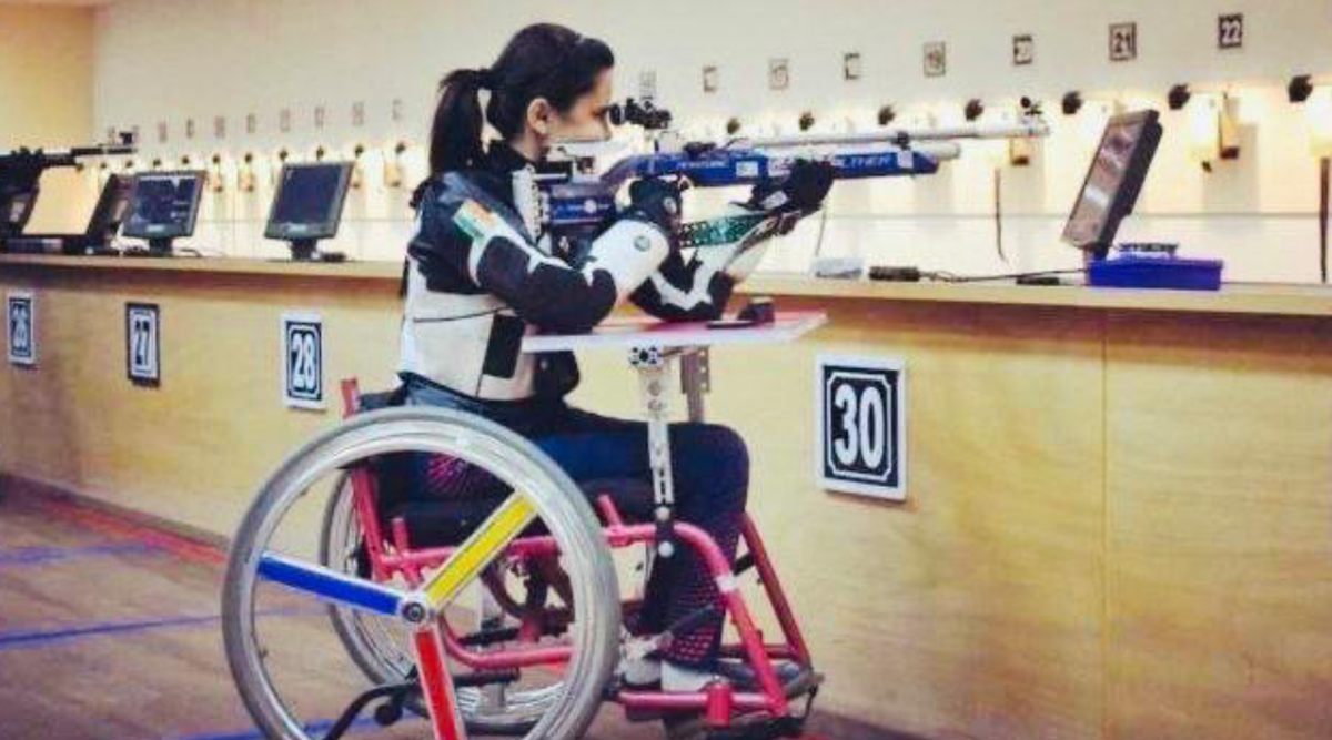 Para shooter Avani Lekhara clinches silver; India stay in top three   Sports News,The Indian Express