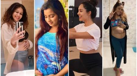Shreya Ghoshal, Kishwer Merchantt, Neeti Mohan and Lisa Haydon