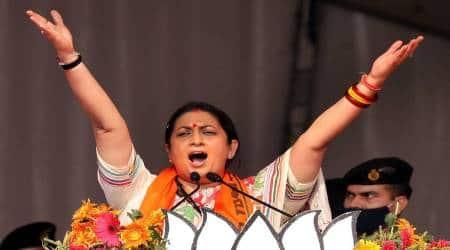 Smriti Irani, West Bengal Assembly Elections 2021