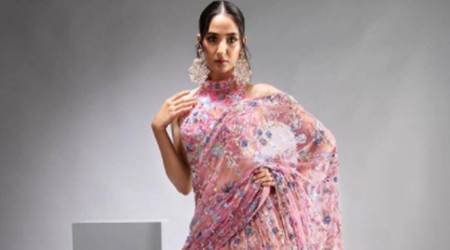 Suneet Varma latest collection, mentally fit, FDCI X Lakme Fashion Week 'phygital' edition, fashion, indian express news