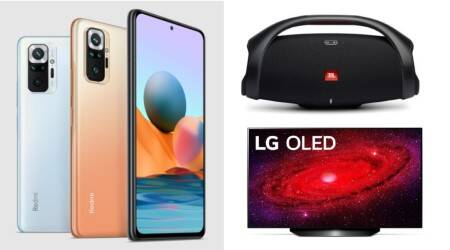 Tech launches of the week, Jabra headphones, Wireless earbuds, JBL speaker, JBL Go, LG OLED TV, Realme C21, Vivo Y31s, Redmi Note 10, Redmi Note 10 pro, Redmi Note 10 pro max, tech launches,
