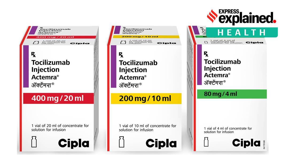 Explained: Tocilizumab reduces death risk in severely ill Covid patients, trial in India finds - The Indian Express