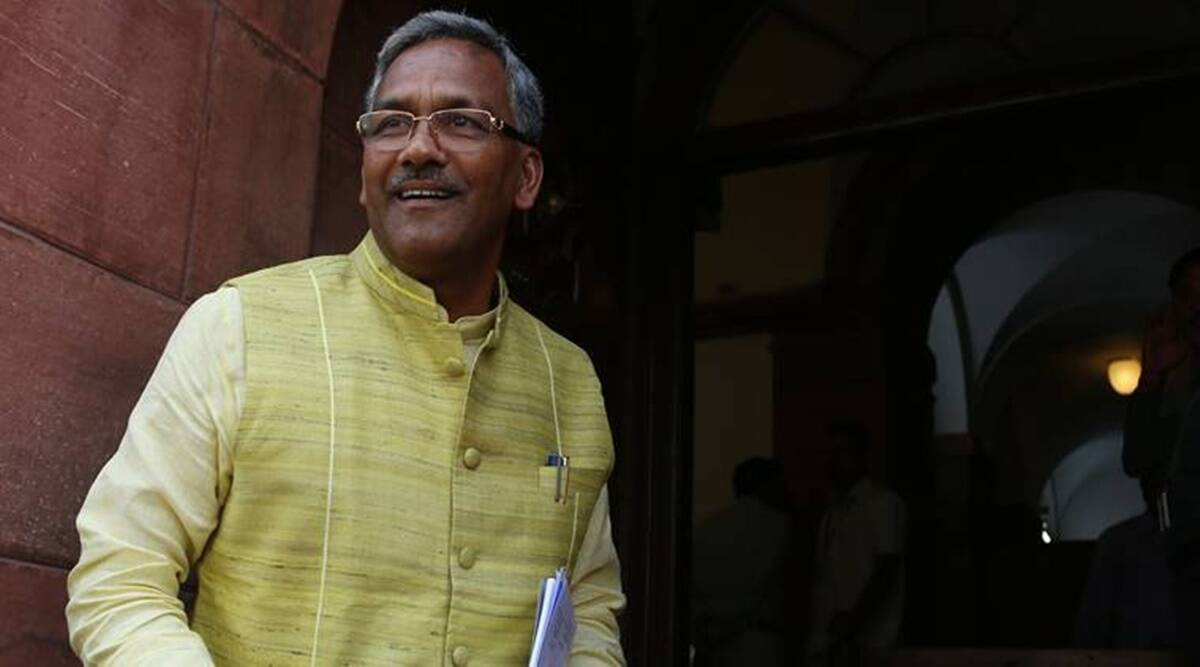 Trivendra Singh Rawat, Uttarakhand govt, 4-yr govt celebrations, Dehradun news, Uttarakhand news, Indian express news