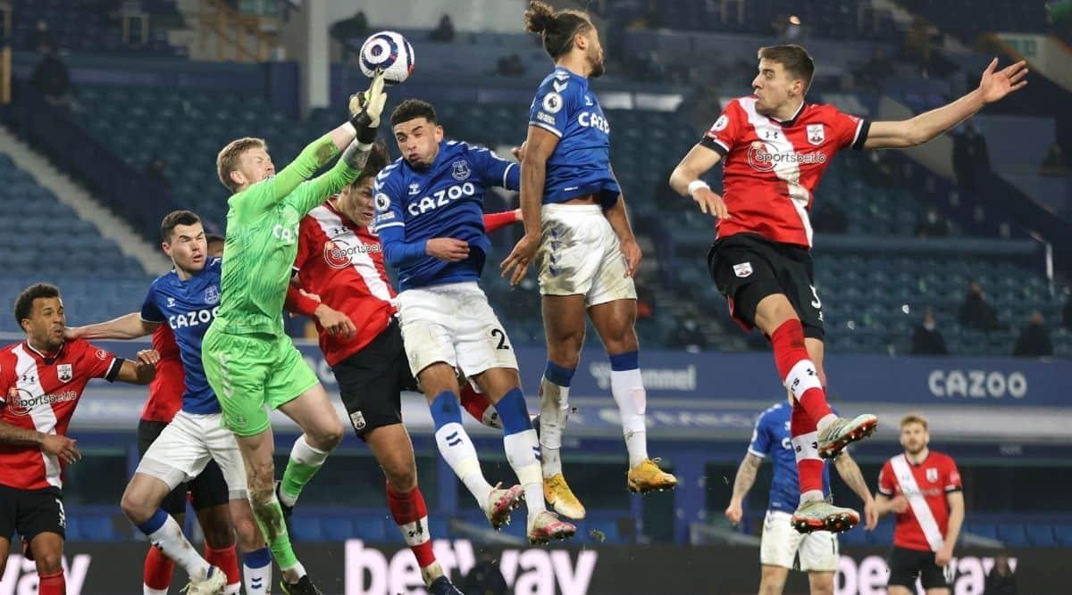 EPL, Everton vs Southampton