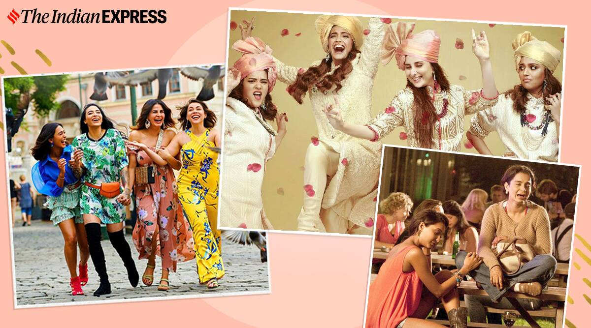 films and web shows on female bonding
