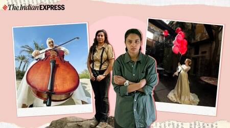 International Women's Day, women photographers, photographs from the female gaze, stunning images from around the world for women's day, indian express news