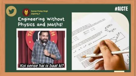 AICTE, AICTE engineering colleges, engineering college admissions, AICTE colleges, aicte-india.org, AICTE college admissions, AICTE engineering admissions 2021, AICTE engineering admissions memes, AICTE memes, education news, Indian express, Indian Express news
