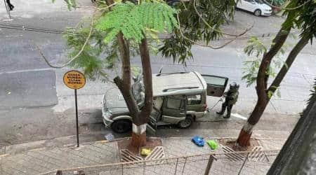 Ambani car bomb case