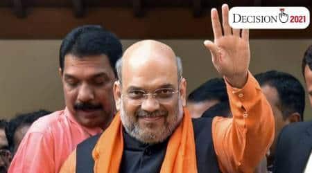 amit shah, Mamata Banerjee, election, West Bengal Assembly Elections 2021, Rahul Gandhi, Congress news, west bengal news, indian express
